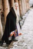 Piękna dziewczyna Viking Zdjęcia Royalty Free