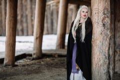 Piękna dziewczyna Viking Obraz Royalty Free