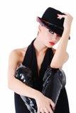 piękna ekspresyjna kobieta Zdjęcia Royalty Free