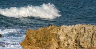Piękna fala i morze Zdjęcia Stock