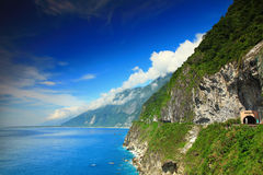 Piękna faleza w Hualien, Tajwan fotografia stock