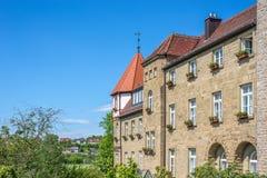 Piękna fasada monaster obraz stock