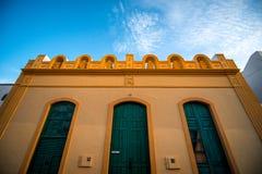 Piękna fasada w Aguimes miasteczku Obraz Royalty Free