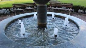 Piękna fontanna Tryavna zbiory wideo