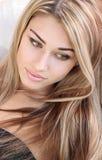 piękna fryzura Zdjęcia Stock