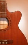 piękna gitara Zdjęcia Stock