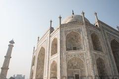 Piękna grafika w Taj Mahal Zdjęcie Stock