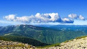 piękna halna panorama Obraz Royalty Free