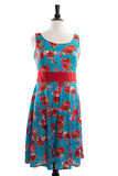 Piękna handmade suknia na manequin Obraz Royalty Free