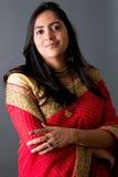 piękna indyjska kobieta Obrazy Stock
