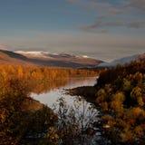 Piękna jesieni sceneria Obraz Royalty Free