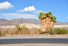 Piękna Kalifornia góra, pustynia krajobraz Obrazy Stock