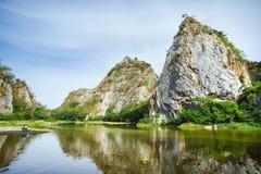 Piękna kamienna góra Obraz Royalty Free