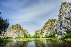 Piękna kamienna góra Zdjęcie Royalty Free
