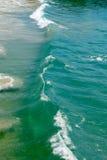 Piękna kipiel zieleni woda Obrazy Stock