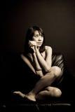 piękna kobieta azjatykcia Obrazy Royalty Free