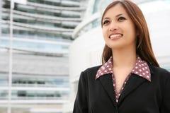 piękna kobieta azjatykcia jednostek gospodarczych Zdjęcie Royalty Free