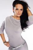 piękna kobieta brunetki Obraz Stock