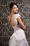 piękna kobieta brunetki Zdjęcia Stock