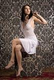 piękna kobieta brunetki Fotografia Stock