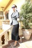 piękna kobieta jednostek gospodarczych Obraz Royalty Free