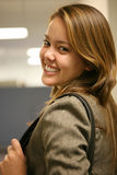 piękna kobieta jednostek gospodarczych Fotografia Stock