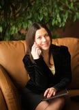 piękna kobieta jednostek gospodarczych Zdjęcia Royalty Free