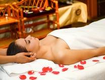 - piękna kobieta leczenia w spa Zdjęcie Royalty Free
