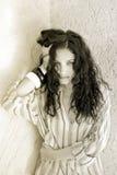 Piękna kobieta Portret Zdjęcie Royalty Free