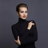 piękna kobieta portret mody Zdjęcia Stock