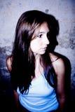 piękna kobieta profilowa Obrazy Royalty Free
