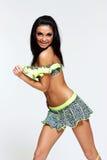 piękna kobieta tancerzem Zdjęcia Royalty Free