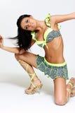 piękna kobieta tancerzem Obraz Royalty Free