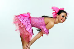 piękna kobieta tancerzem Zdjęcie Stock