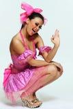 piękna kobieta tancerzem Zdjęcie Royalty Free