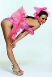 piękna kobieta tancerzem Fotografia Royalty Free