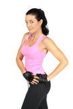 Piękna kobieta w sportswear Fotografia Stock