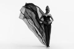 piękna kobieta w studiu Zdjęcie Royalty Free