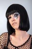 Piękna kobieta z mody makeup Zdjęcia Royalty Free