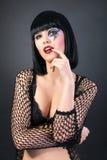 Piękna kobieta z mody makeup Obrazy Royalty Free