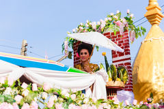 Piękna kobiety Tajlandia kultura Fotografia Royalty Free