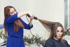 piękna konceptualna fotografii salonu kobieta Obrazy Stock