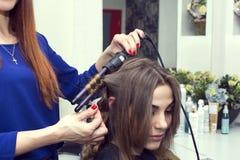 piękna konceptualna fotografii salonu kobieta Fotografia Stock