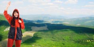 piękna krajobrazowa góra Zdjęcia Royalty Free