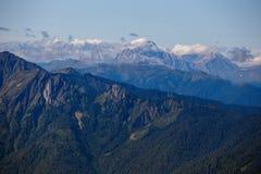 piękna krajobrazowa góry Zdjęcie Royalty Free