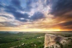 piękna krajobrazowa góry Zdjęcia Royalty Free