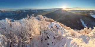 piękna krajobrazowa zima Obraz Stock