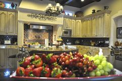 piękna kuchnia Obraz Royalty Free