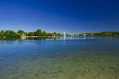 piękna laguna Zdjęcia Stock