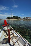 Piękna Lengkuas wyspa Belitong Zdjęcia Royalty Free